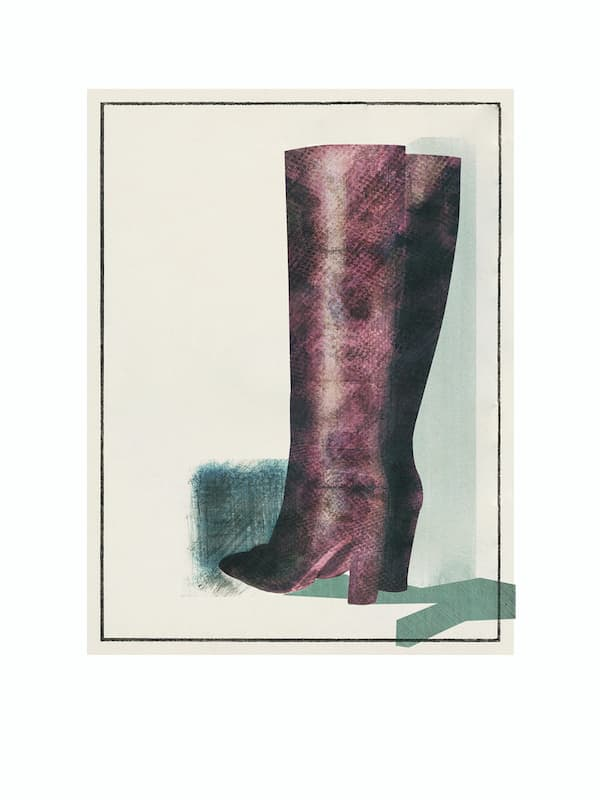 snake skin boots, high hell