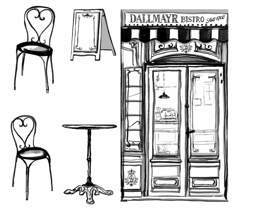 Dallmayr Display Windows